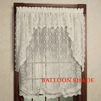 swag lace curtains lace curtains hopewell lace curtain panel lace balloon