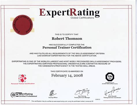 Personal Trainer Certification With Issa by Certified Personal Trainer