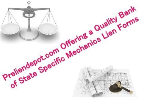 Finding Lien preliendepot offering a quality bank of state specific