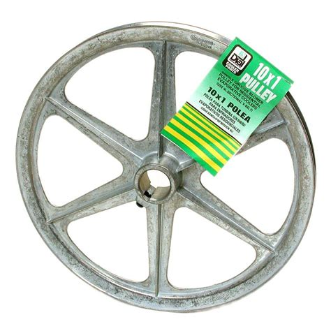 10 in x 1 in evaporative cooler blower pulley 6324 the