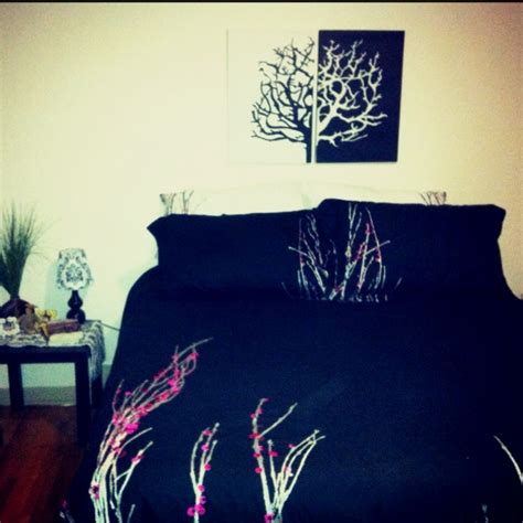 Cherry Blossom Duvet Cover Outfitters 44 best images about navy blue duvet cover on