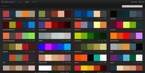 adobe colors 6 color matching techniques for web designers