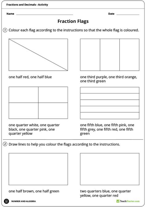 flags of the world ks1 fraction flags worksheet teaching resource maths year