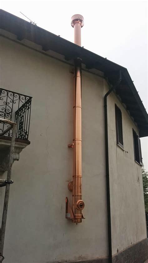 installazione canna fumaria camino installazione canna fumaria doppia parete rame paganini