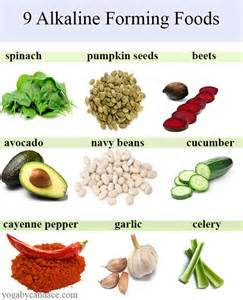 9 alkaline forming foods yogabycandace