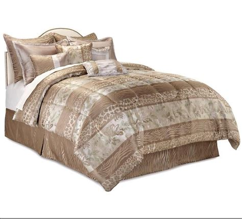 king size comforter on queen size bed highgate manor serengeti 10 piece comforter set bedding