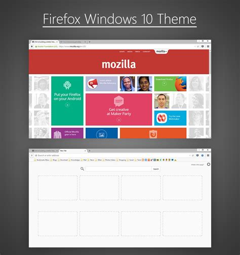 firefox themes how to make firefox windows 10 theme by zz133zz on deviantart