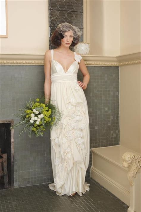 White Linen Wedding Dresses by Linen Wedding Dress Gnewsinfo