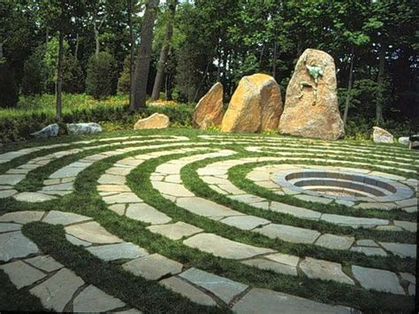 Abingdon The Labyrinth Company Garden Labyrinth Templates