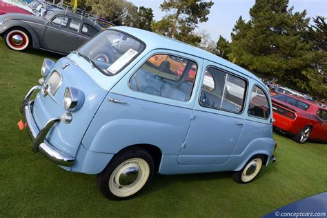 fiat multipla 600 auction results and sales data for 1960 fiat 600 multipla