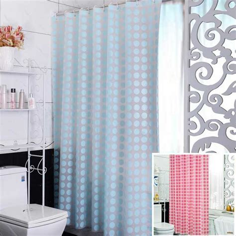 eco friendly shower curtain fashion blue peva shower curtain waterproof mold proof eco