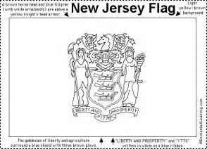 new jersey colors new jersey flag printout enchantedlearning