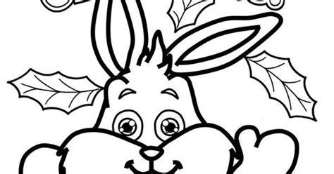 christmas bunny coloring pages christmas bunny coloring page christmas crafts