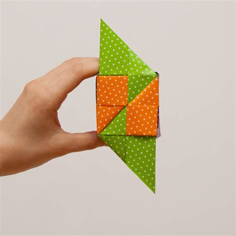 Origami Tips - origami cube useful tips japan