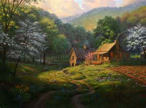 country blessings by keathley as painted in stages