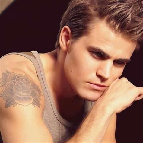 paul wesley tattoo stefan i want to the story paul wesley