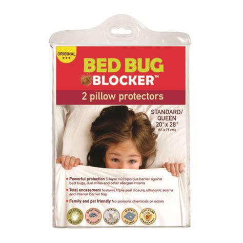 bed bug pillow protectors bed bug blocker queen pillow protector 2 pk at menards 174