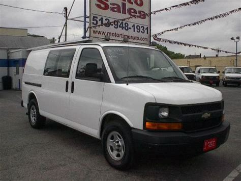 how things work cars 2007 chevrolet express 1500 navigation system purchase used 2007 chevrolet express 1500 cargo in 7505 vine street cincinnati ohio united