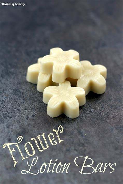 Handmade Lotion Bars - flower lotion bars diy s day gift idea