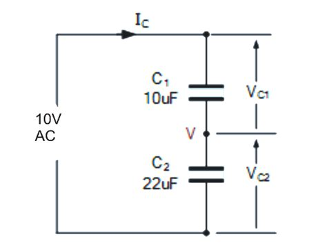voltage divider for capacitor capacitive voltage divider circuit explained