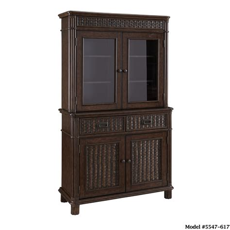 kitchen buffet and hutch furniture home styles castaway buffet and hutch home furniture dining kitchen furniture buffets