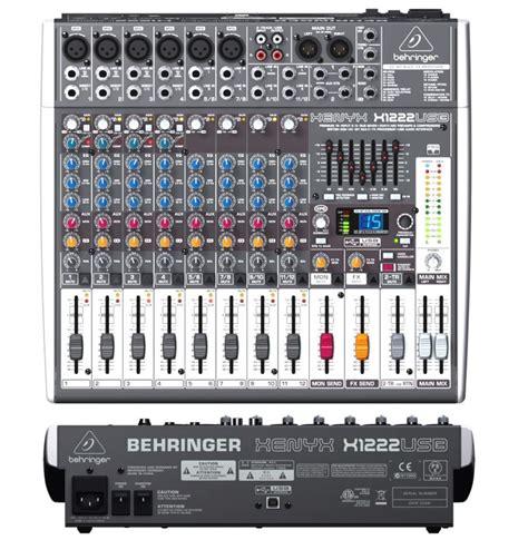 Mixer Xenyx X1222usb behringer xenyx x1222usb