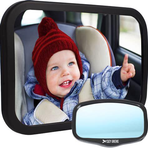 baby rear view mirror with light amazon com 4u2c rear facing car seat baby mirror rear