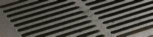 grilles de foyer en fonte