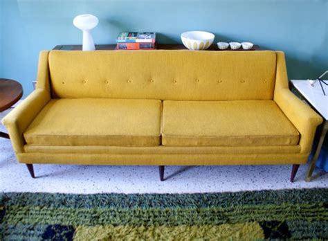 home goods sofa golden mustard home goods pinterest mid century