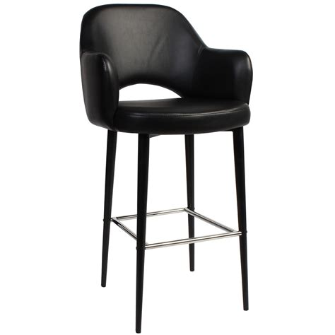 Commercial Grade Metal Bar Stools by Albury Commercial Grade Vinyl Bar Stool With Arm Metal
