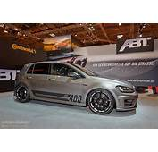 Golf R Goes Mental With 400 HP Tuning Kit From ABT In Essen Live