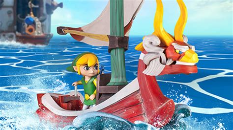 wind waker boat wind waker statue by first 4 figures clutter magazine