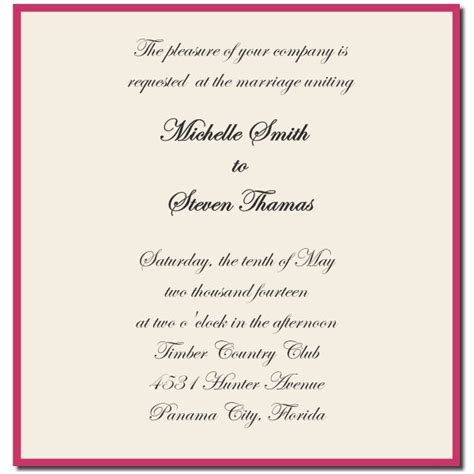 wedding invitations pictures groom wedding invitations wording from and groom wedding