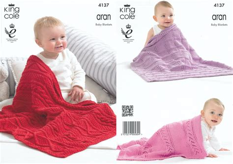 king cole aran knitting patterns baby blankets aran knitting pattern king cole cable knit