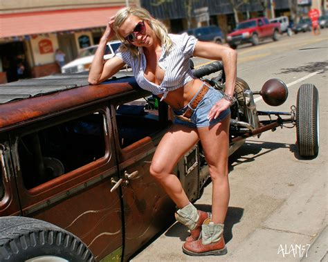 Hot Rods and Girls ? Flesh & Relics