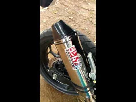 Knalpot Yoshimura Usa Carbon Series tes suara 250 fi knalpot racing yoshimura trc usa titanium series custom slip on