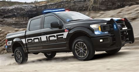 police truck ford creates pursuit rated f 150 police pickup truck