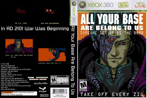 All Your Base Are Belong To Us Meme - image 299718 all your base are belong to us know