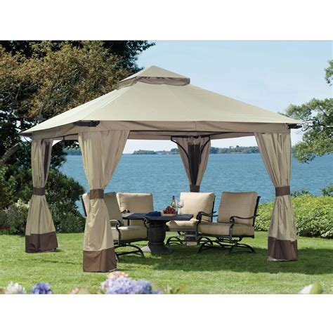 sunjoy gazebo sunjoy maple hill gazebo outdoor living gazebos