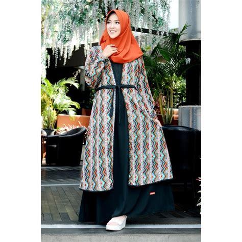 Gamis Wanita Shopee Gamis Nibras Wolfis Nb 143 Hijau Gelap Shopee Indonesia