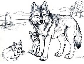 wolf pictures to color free printable wolf coloring pages for