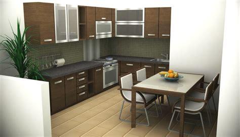 desain dapur kecil keren desain lengkap model rumah minimalis type 45 terbaru