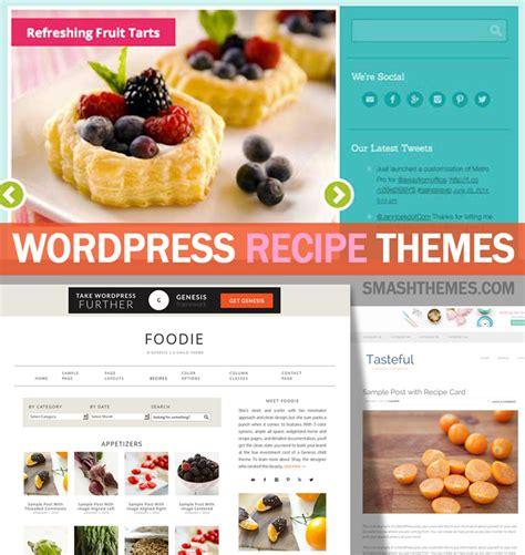 themes wordpress recipes 15 best wordpress food recipe themes 2014 smashthemes