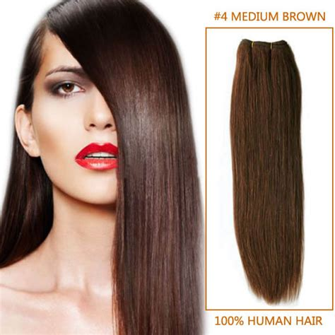 30 inch 4 27 brown 30 inch 4 medium brown indian remy hair wefts