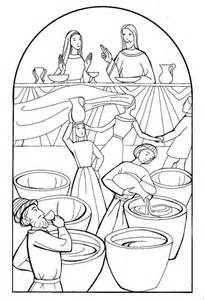 Wedding At Cana Activity Sheets by Free Wedding At Cana Coloring Pages
