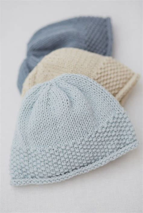 knit baby hat pattern free easy 17 best images about baby knitting patterns on
