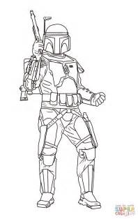 Jango Fett Coloring Page Jango Fett Coloring Page Free Printable Coloring Pages
