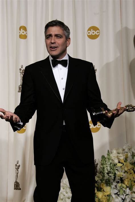 film oscar george clooney george clooney 2006 pictures from the oscar press room