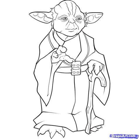 yoda coloring page party ideas pinterest coloring