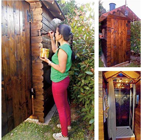 tenda doccia fai da te doccia da giardino fai da te rivestita in legno fai da